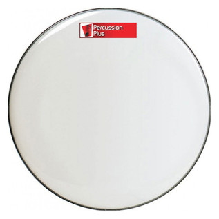 Percussion Plus White Bass Drum Head, 20