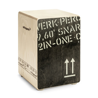 Schlagwerk 2inOne Cajon medium, Black Edition
