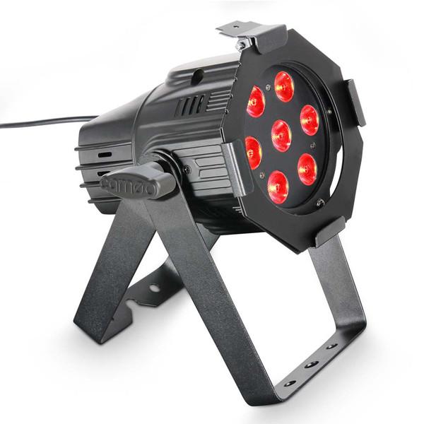 Cameo 7 x 3W RGB LED Studio Mini Par Can Light