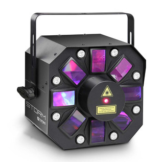 Cameo 5 x 3W RGBAW Derby, Strobe and Grating Laser Lighting Effect