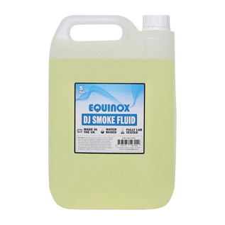 Equinox DJ Smoke Fluid 5 Litres, Pack of 4