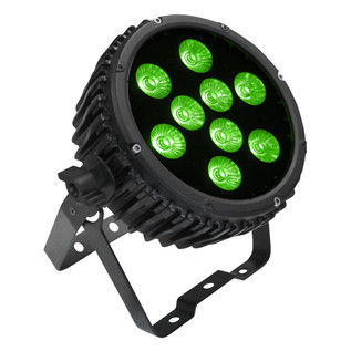 LEDJ Intense 9HEX10 RGBWAUV LED Par Can