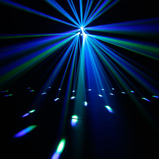 Cameo Moonflower 9W Tri Colour RGB LED Lighting Effect