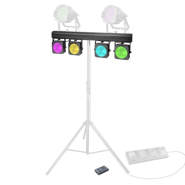 Cameo Multi Par 4 x 30W COB LED Lighting System