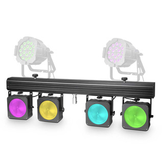 Cameo Multi Par 4 x 30W COB LED Lighting System