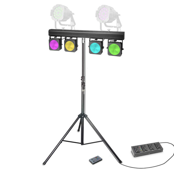 Cameo Multi Par Set 4 x 30W COB LED Lighting System