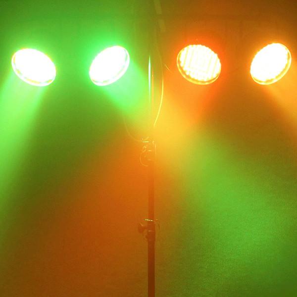 Equinox Party Par Pack LED Par 56 Cans, Black Housing