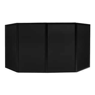 Equinox Foldable DJ Screen Black, Includes Bag