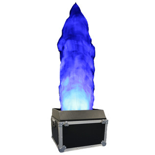 Equinox 2m Flight Cased DMX LED Flame Machine