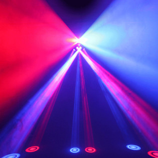 Equinox Six Shooter 18 x 3W LED DMX Effect