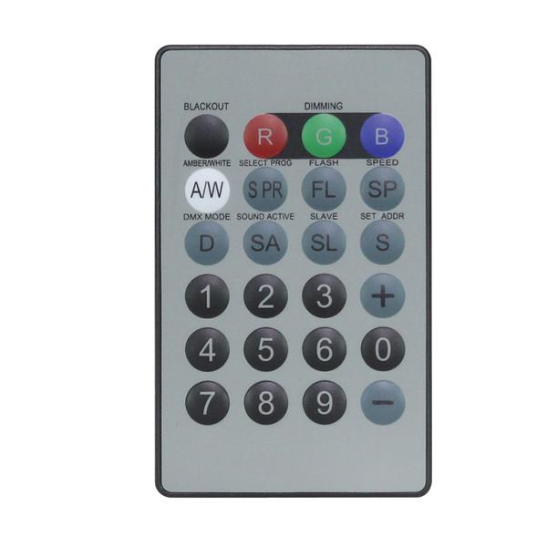 LEDJ IR Remote for LEDJ Quad Fixtures (RGBA/W)