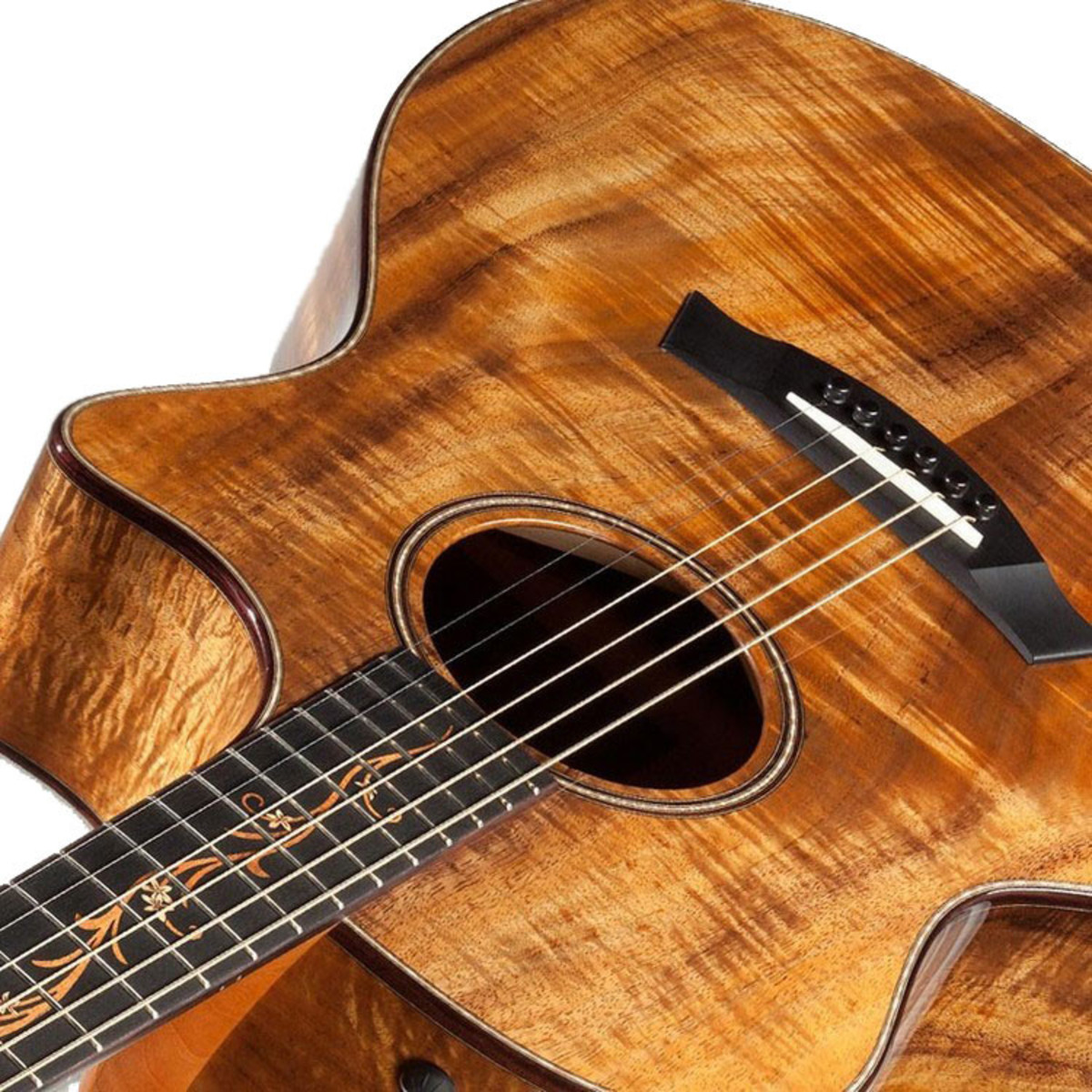 Taylor K22ce Koa Grand Concert Electro Acoustic Guitar W