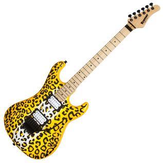 Kramer Pacer Vintage Satchel Signature Guitar, Yellow Leopard