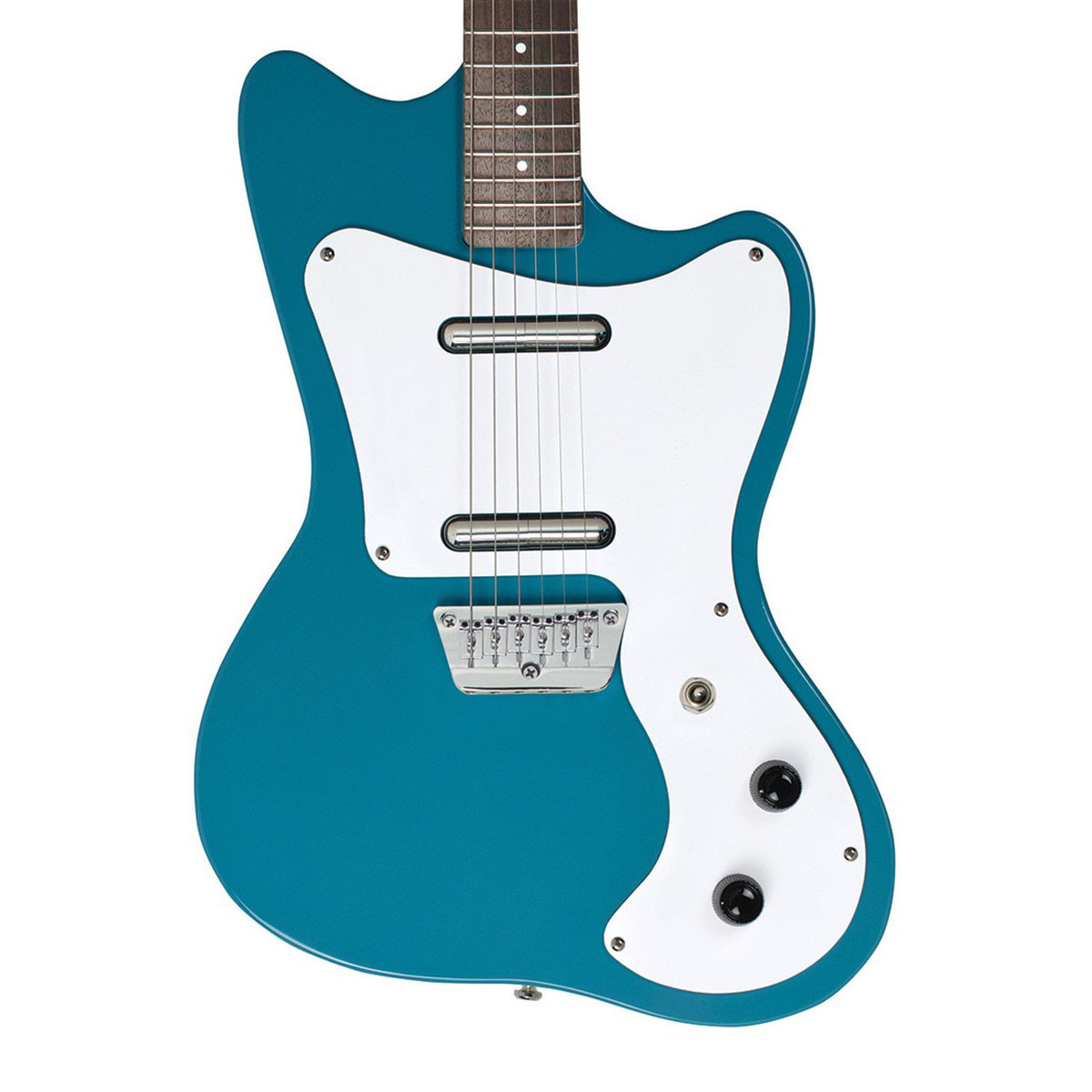 danelectro 67 offset electric guitar aqua at gear4music. Black Bedroom Furniture Sets. Home Design Ideas