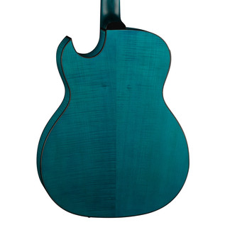 Dean Exhibition FM Electro Acoustic Guitar w/Aphex, Faded Denim