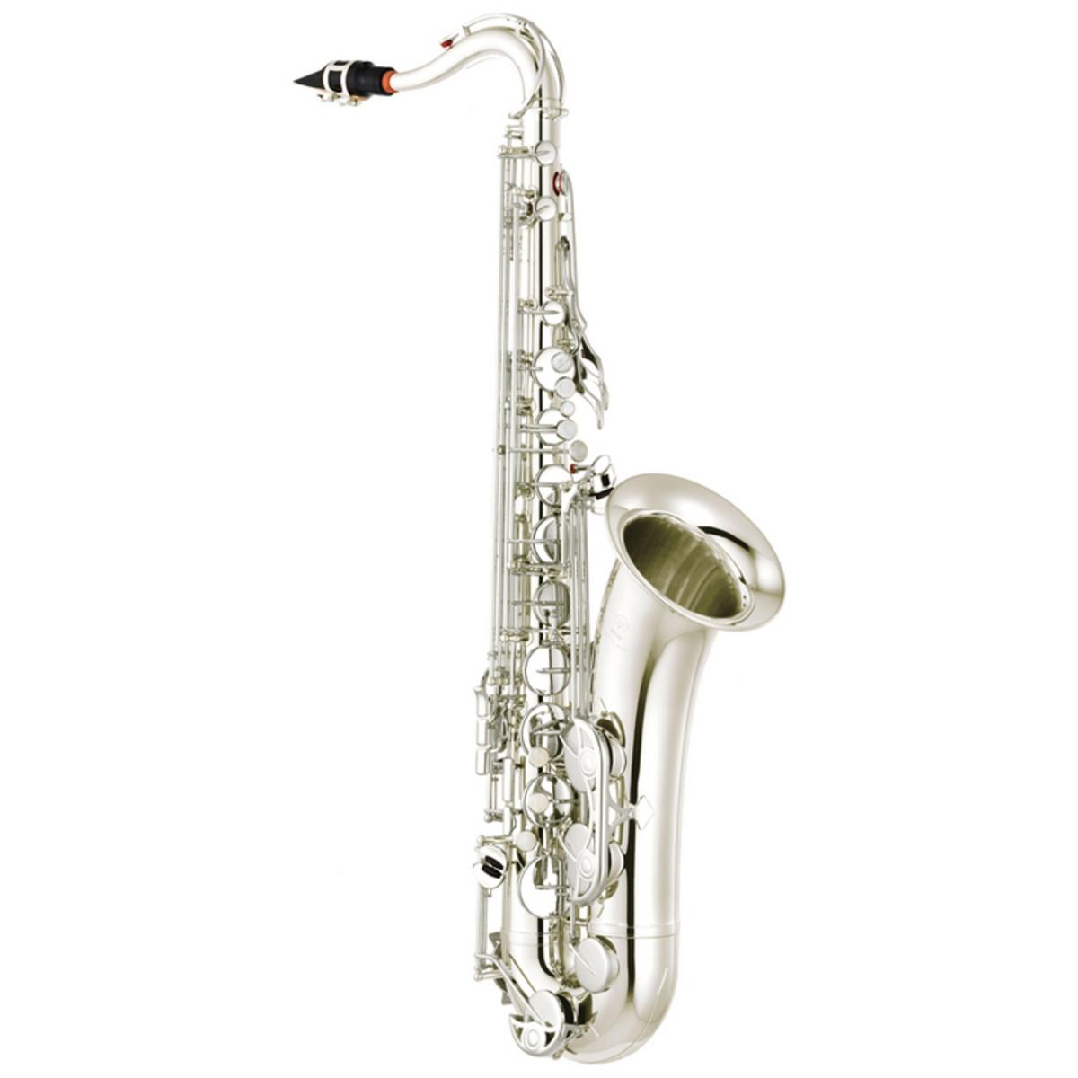 Yamaha yts280s student tenor saxophone silver nearly for Yamaha student saxophone