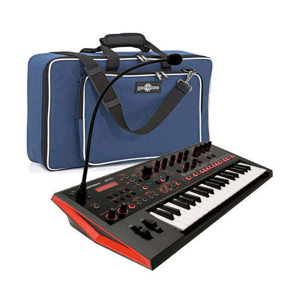 Roland JD-Xi Interactive Analog/Digital Synthesizer with Padded Bag