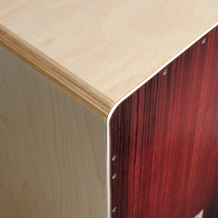 Sela Varios Pre Assembled Cajon with Removable Snare System, Red