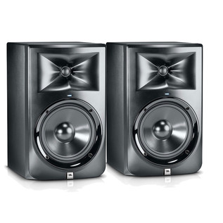 JBL LSR308 Two Way Active Studio Monitors (Pair)