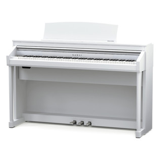 Kawai Concert Artist CA67 Digital Piano, Premium Satin White