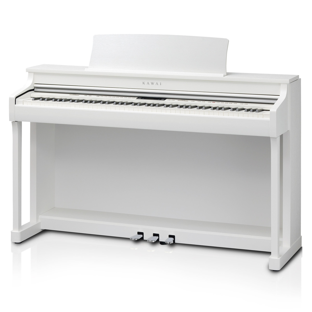 kawai cn35 digital piano premium satin white at gear4music. Black Bedroom Furniture Sets. Home Design Ideas