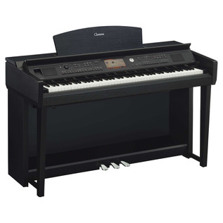 Yamaha Clavinova CVP705 Digital Piano, Black Walnut