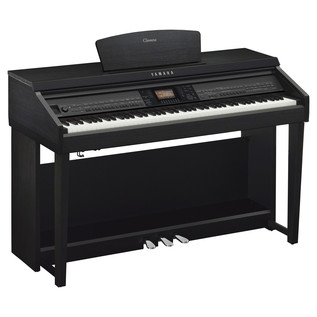 Yamaha Clavinova CVP701 Digital Piano, Black Walnut