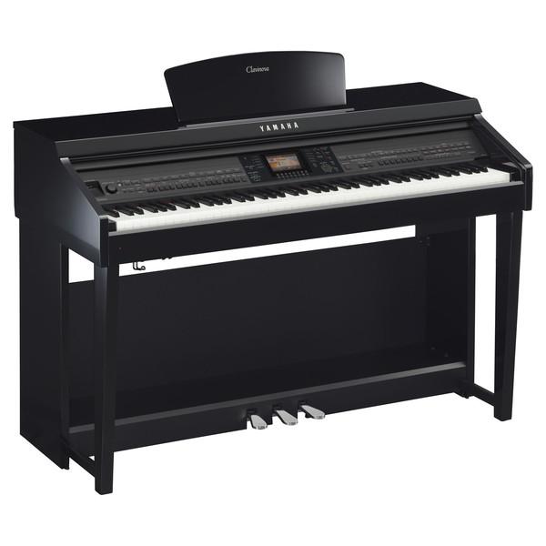 Yamaha Clavinova CVP701 Digital Piano, Polished Ebony