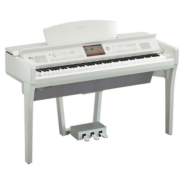 Yamaha Clavinova CVP709 Digital Piano, Polished White