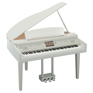 Yamaha Clavinova CVP709 Digital Grand Piano, Polished White