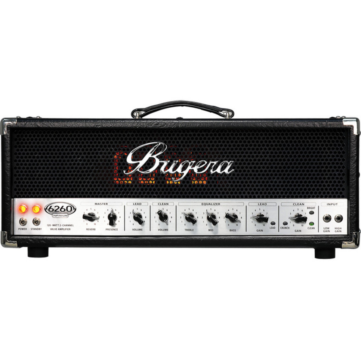 bugera 6260 infinium 120 watt valve amp head ex demo at gear4music com rh gear4music com Bugera White Bugera Cat
