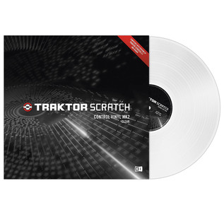 Native Instruments Traktor Scratch Control Vinyl MK2 Clear