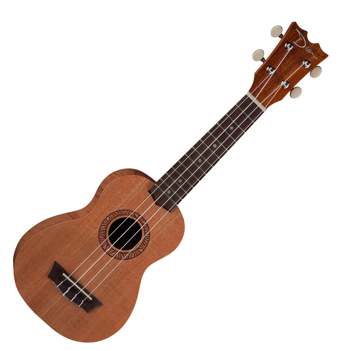 Dean Guitars Ukulele Travel Uke: Dean Soprano Ukulele, Mahogany At Gear4music