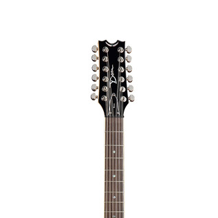 Dean Boca 12 String Electric Guitar, Trans Amber
