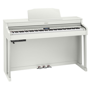 Roland HP603 Digital Piano, White