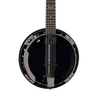 Dean Backwoods 6 Banjo w/Pickup, Black Chrome