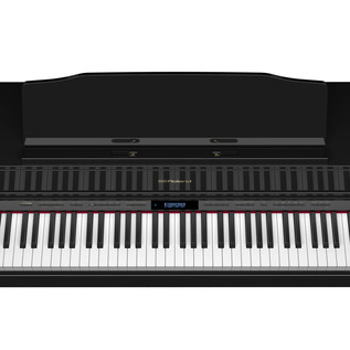 Roland HP605 Digital Piano, Polished Ebony