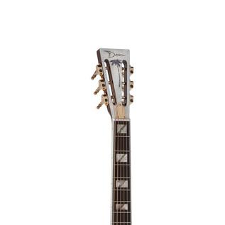 Dean Resonator Thin Body Electric Resonator Guitar, Chrome/Gold