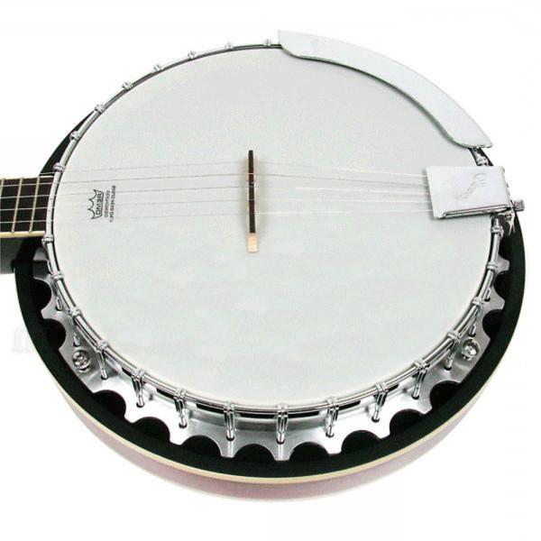 Ozark 2104GL 5 String Banjo, Left Handed with Gig Bag
