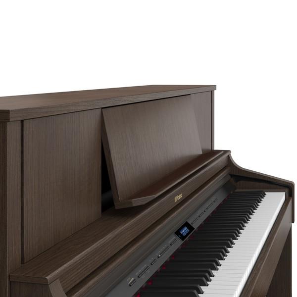 Roland LX7 Digital Piano, Brown Walnut