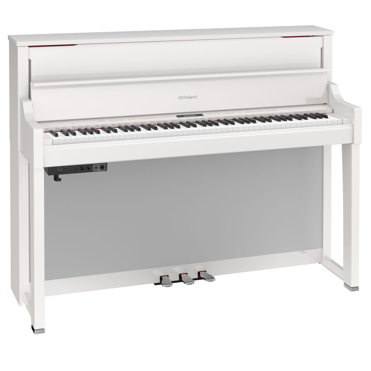 roland lx17 digital piano polished white at gear4music. Black Bedroom Furniture Sets. Home Design Ideas