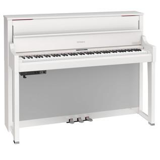 Roland LX17 Digital Piano, Polished White