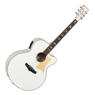 Tanglewood Evolution Viscount TSJ V1 Electro Acoustic Guitar, White