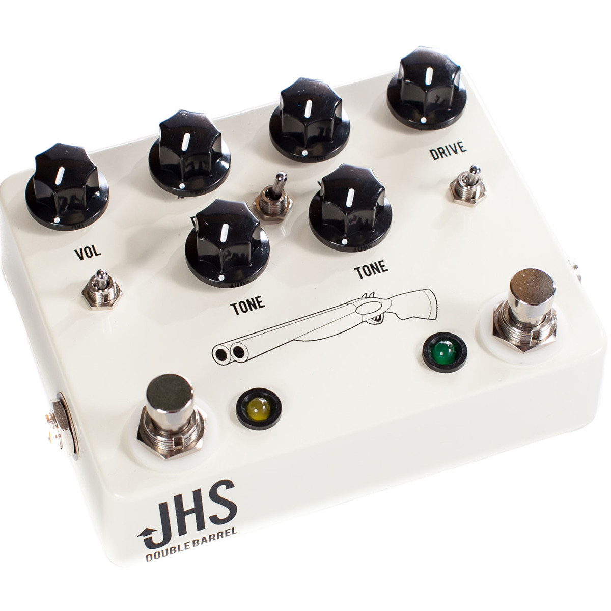 jhs pedals double barrel 2 in 1 dual overdrive pedal at gear4music. Black Bedroom Furniture Sets. Home Design Ideas