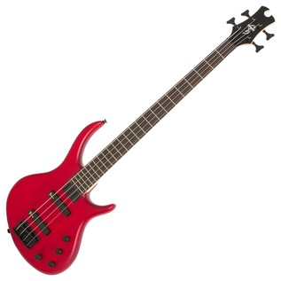 Epiphone Toby Deluxe IV Bass Guitar, Trans Red