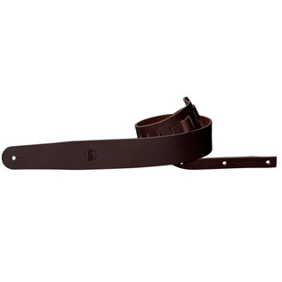 Richter 1153 RARE Raw II Guitar Strap; Brown