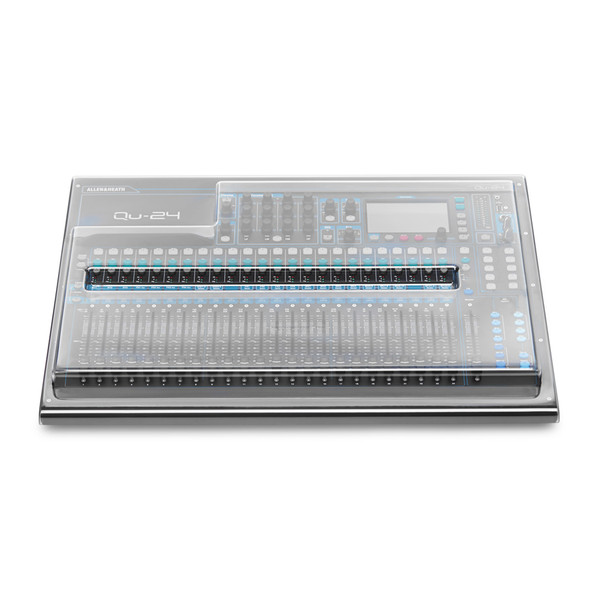 Decksaver Cover for Allen and Heath QU24