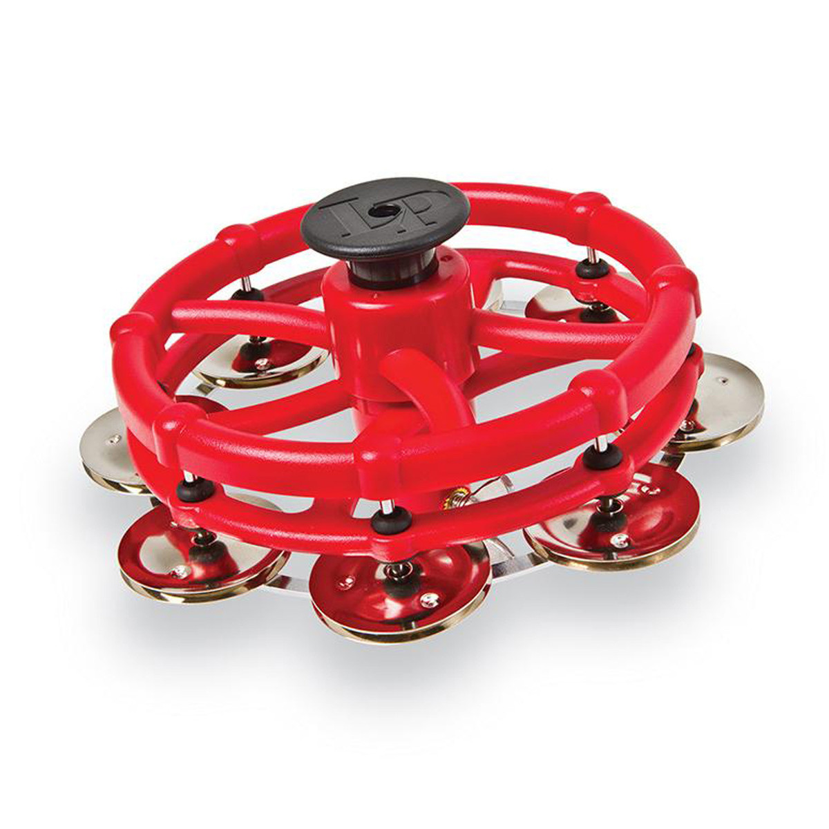 Click to view product details and reviews for Lp Click Hi Hat Tambourine With Steel Jingles.