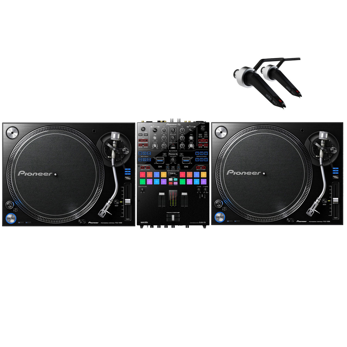 pioneer plx 1000 djm s8 pack de dj en. Black Bedroom Furniture Sets. Home Design Ideas
