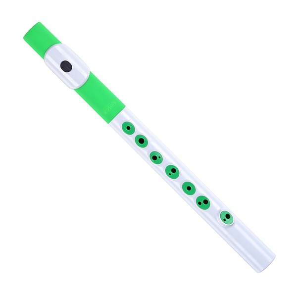Nuvo TooT in White with Green Trim